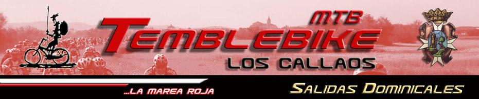 """C.D.E. Temblebike """"Los Callaos""""- Salidas Domincales"""