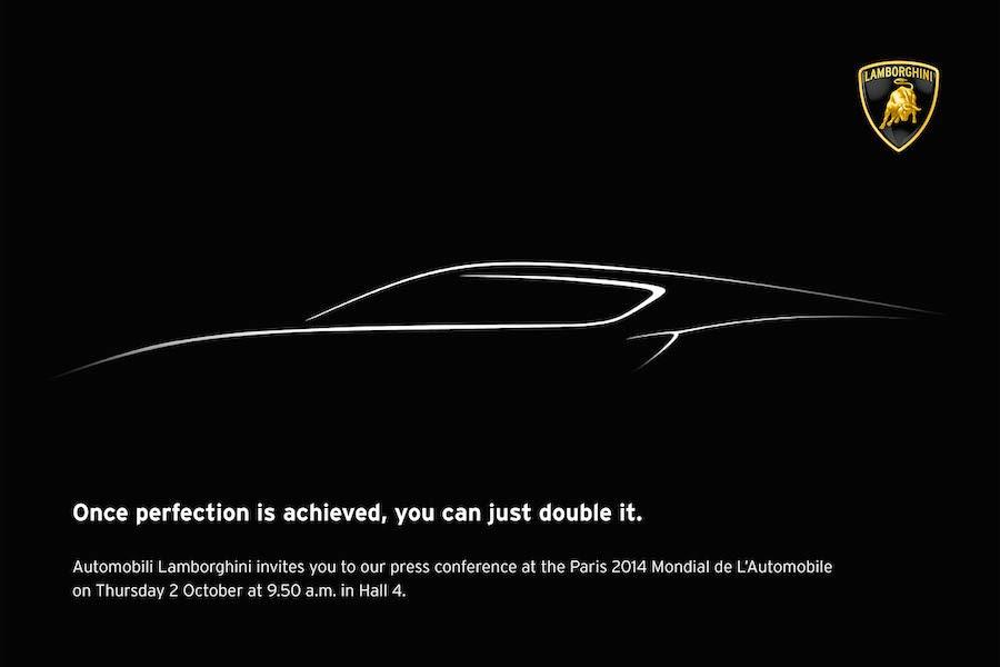 ランボルギーニがパリモーターショーで謎のモデルを発表?