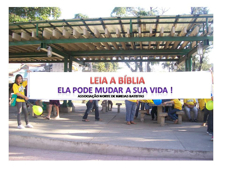 SEMANA DA BÍBLIA, 1000 EXEMPLARES DO EVANGELHO DE JOÃO DISTRIBUÍDOS POR DIA.