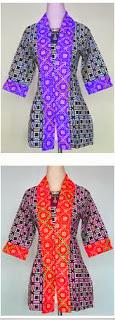 model pakaian batik keren