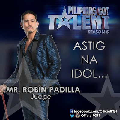 Robin Padilla PGT Season 5 judge