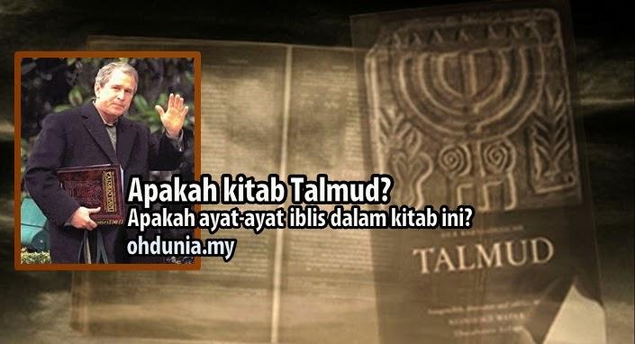 Apakah Kitab Talmud & Ayat-Ayat Iblis Dalam Kitab Talmud Yahudi?