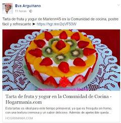 MI TARTA DE FRUTA Y YOGUR PUBLICADA POR EVA ARQUIÑANOO EN SU COMUNIDAD DE HOGARMANIA
