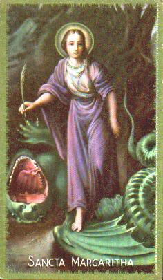 santoralcatólico santa margarete da antióquia e santa eliza