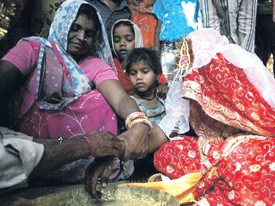 Kehidupan pengantin kanak-kanak di India