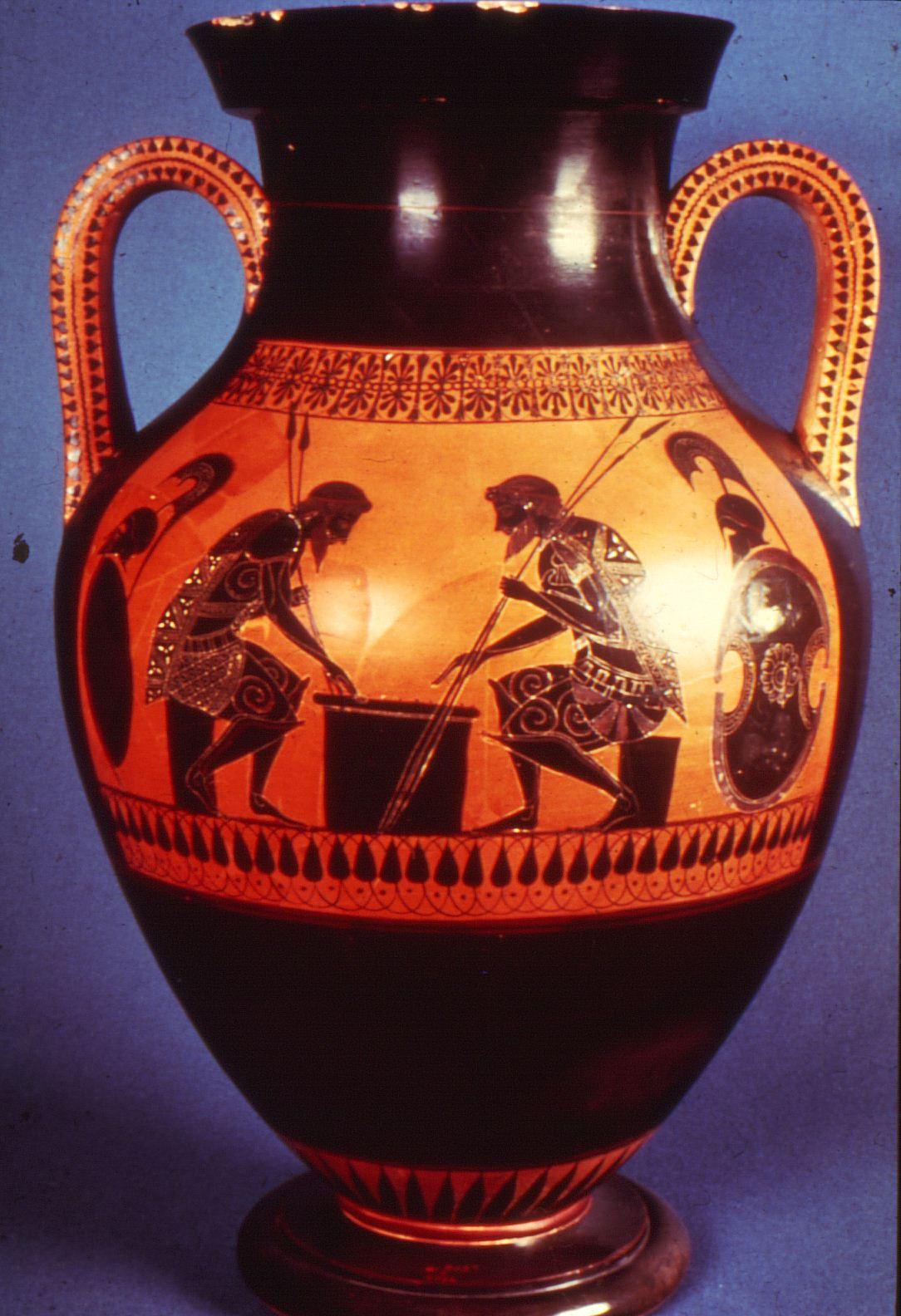Græske vaser typer