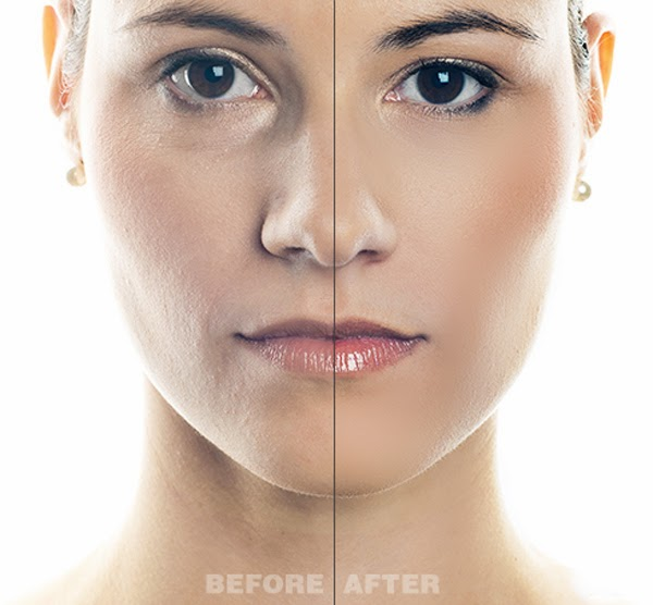 Skin Retouching Actions Preview