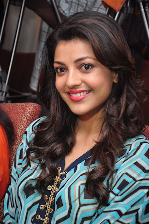 Cute and sweet Kajal agarwal photos at big green ganesha event