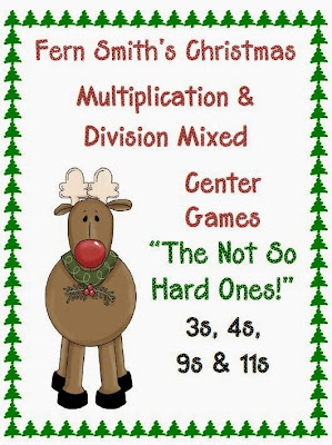 http://www.teacherspayteachers.com/Product/Christmas-Multiplication-Division-Center-Games-The-Not-So-Hard-Ones-175139