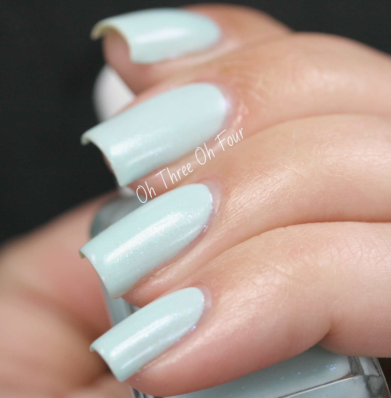 Blue-Eyed Girl Lacquer Lady Slipper Swatch