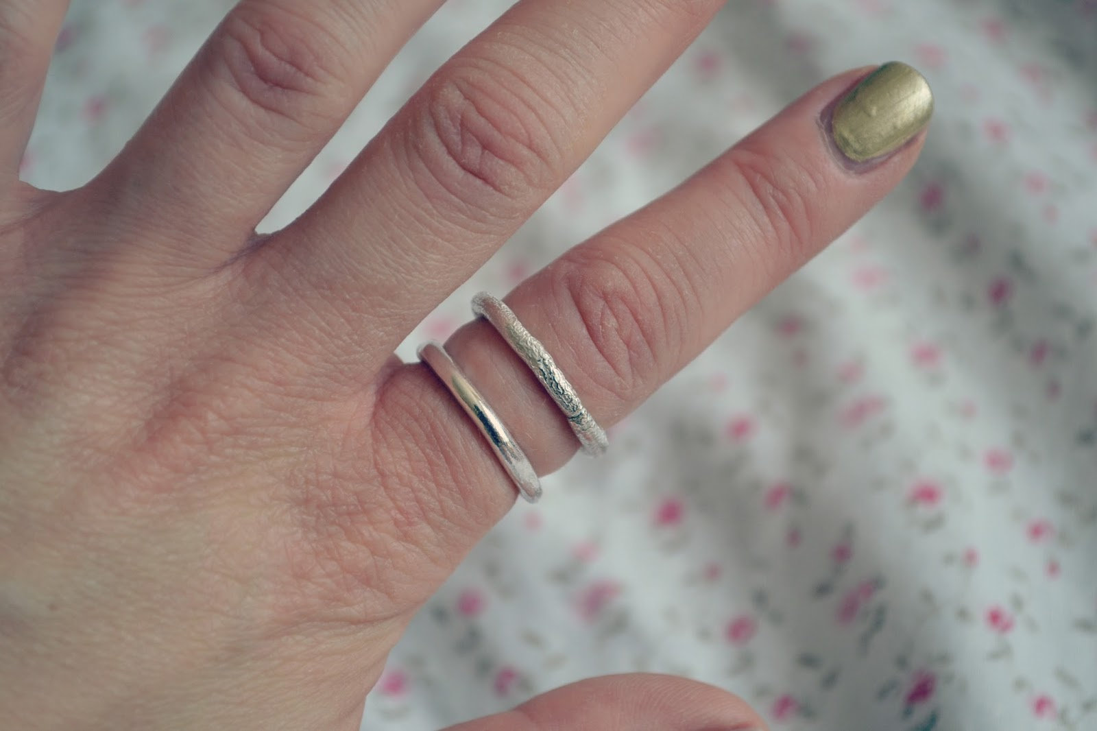 daniella draper thoroughly british silver jewellery rings