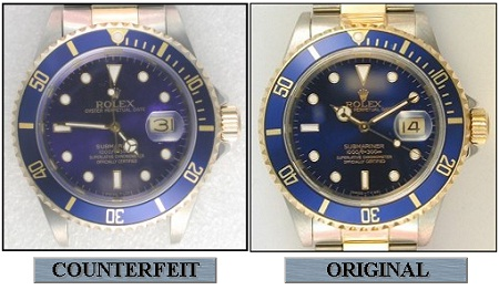 Tips to identify Fake and Real Rolex Watches