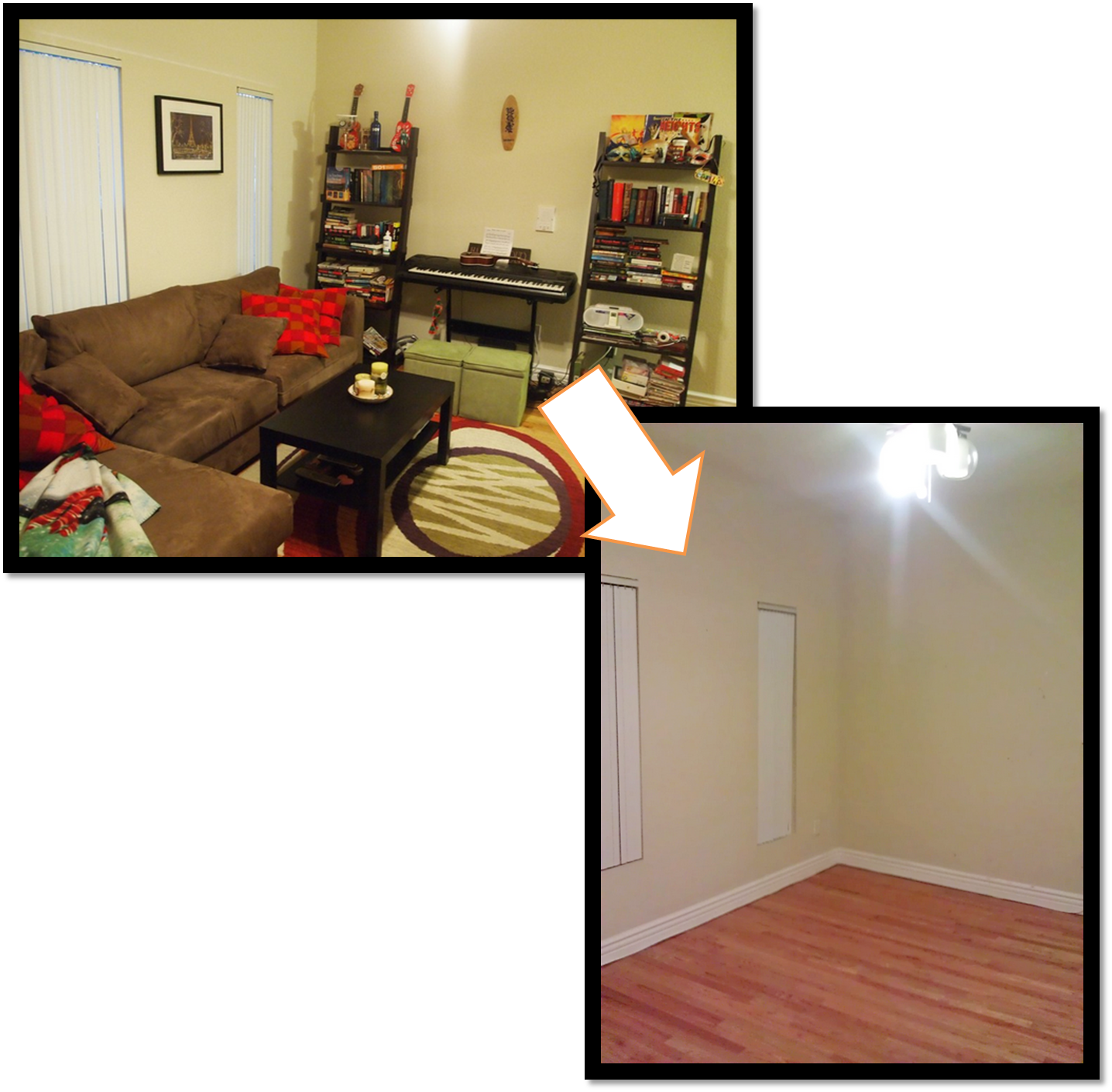 Empty Living Room: The Art Of Letting Go