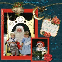 "The following pages have been created with Retro Designs ""A Christmas Carol"""