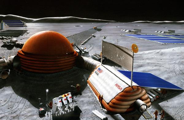 lander - Luna - tipologie di missione e idea per lander - Pagina 10 NASA+moon+base1