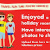 Travel Fun Time Photo Contest: Win Travel Vouchers, Conditti Luggage Bag, Power Bank #TravelFunTime