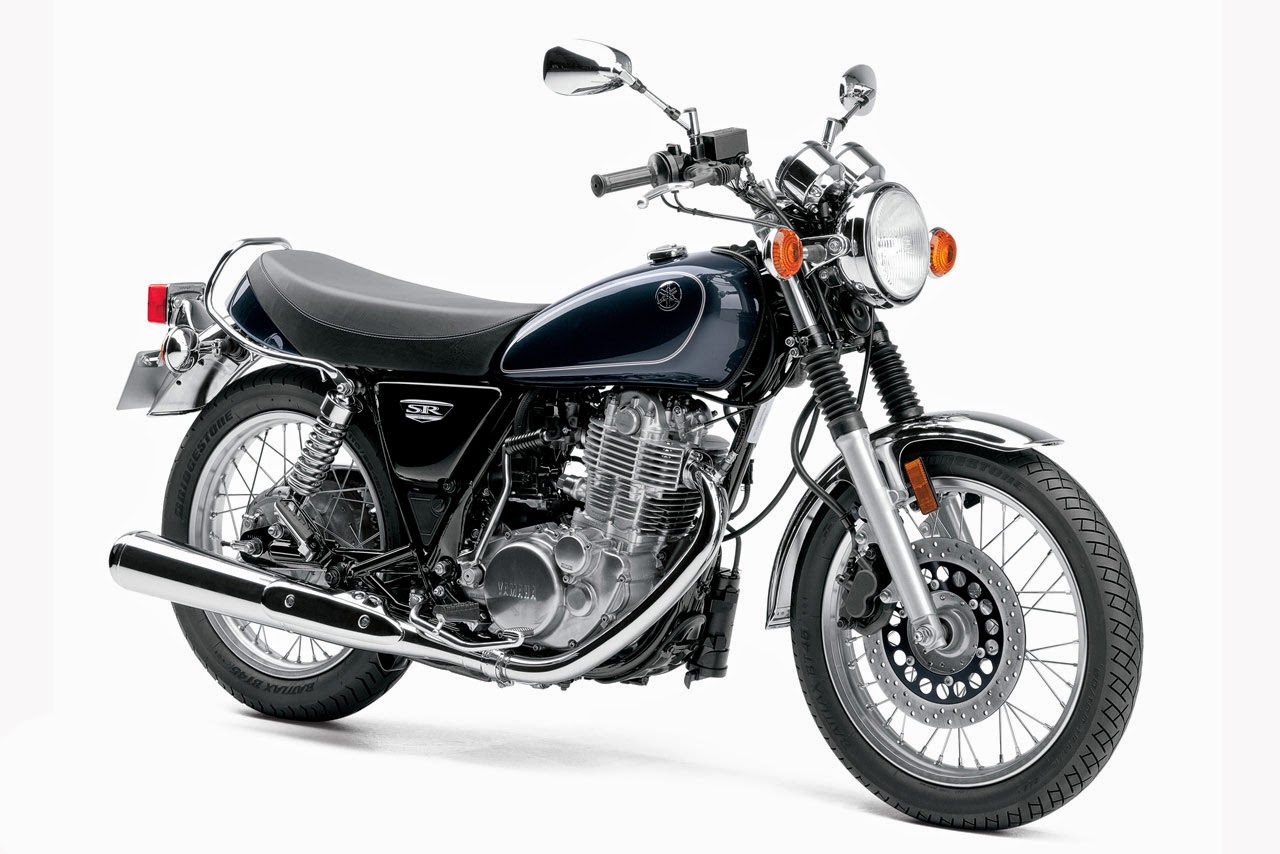 Newly Launch Yamaha SR400  Review 2014