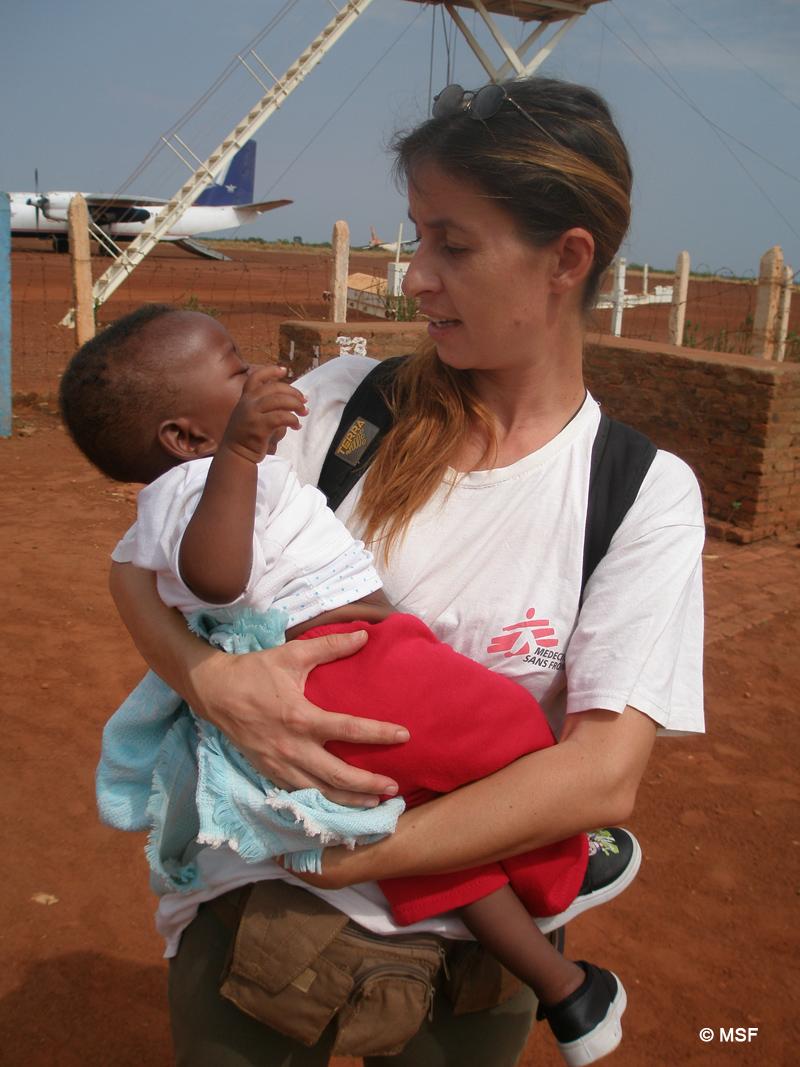 MSF Doctor Iro Evlampidou © MSF