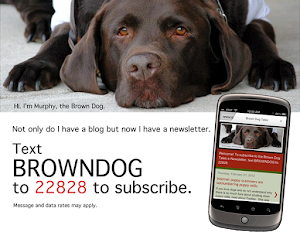 Click on Murphy to subscribe to his e-Newsletter. Or text. He likes texts!