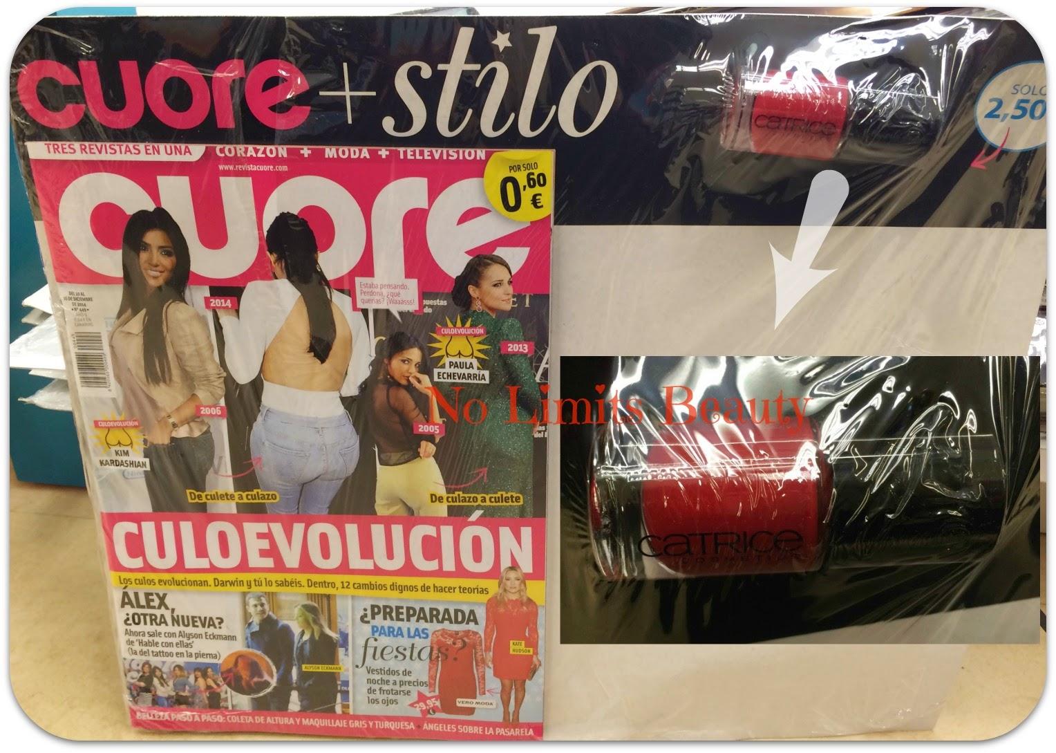 Regalos revistas Enero 2015: Cuore