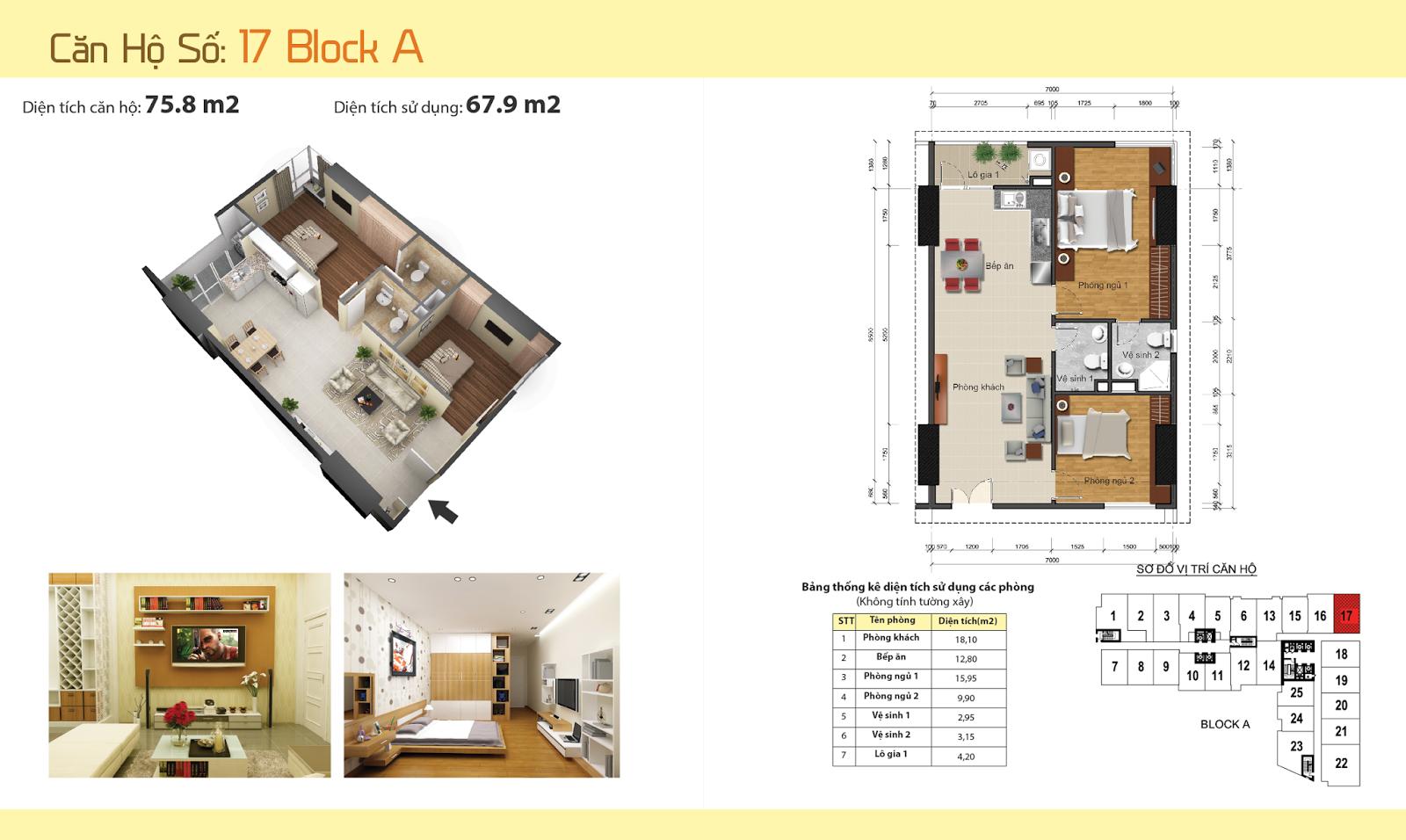 Thiết kế nội thất chung cư Gemek Tower 29