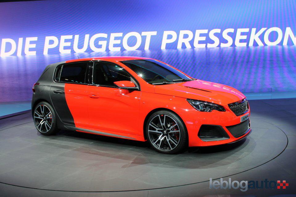 Frankfurt 2013 Peugeot 308 R Concept Nuevas Y Mejores Fotos