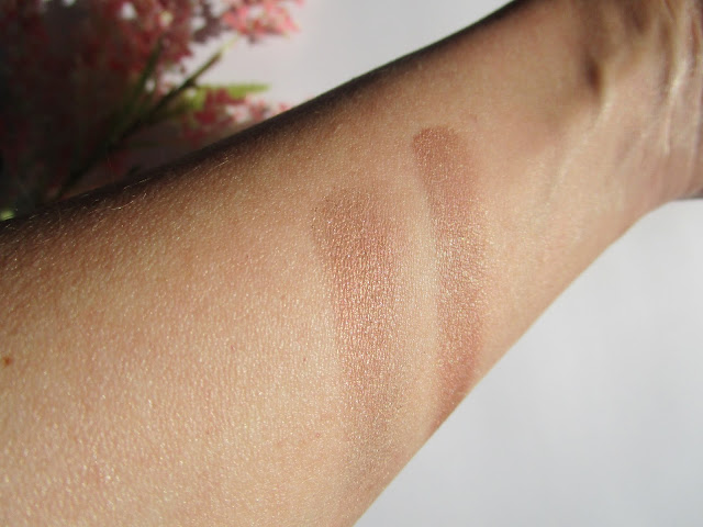 Duo eyeshadows nars Kalahari swatches