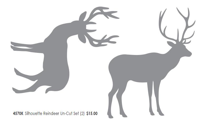 Reindeer templates cut out new calendar template site for Reindeer cut out template