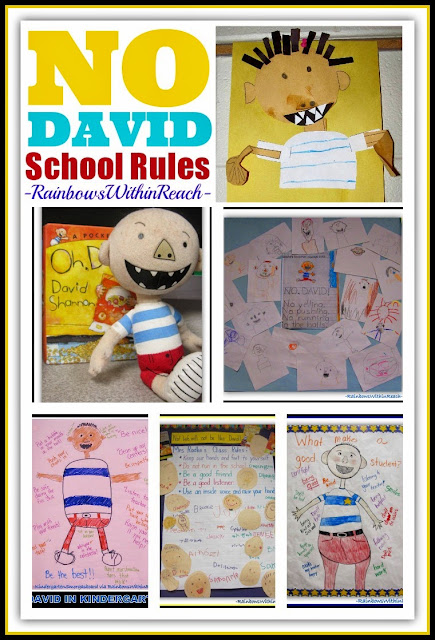 """No David!"" Picture Book for Back-to-School Setting Expectations + Behavior at RainbowsWithinReach"
