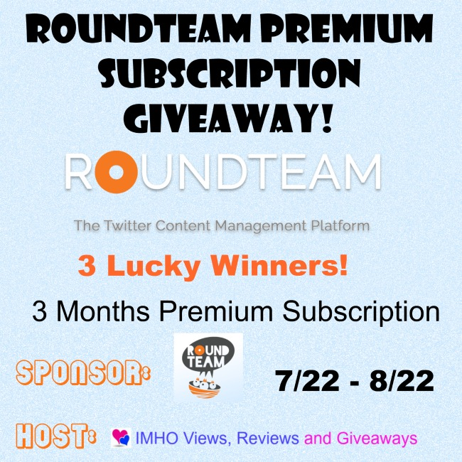 Roundteam Premium Subscription Giveaway