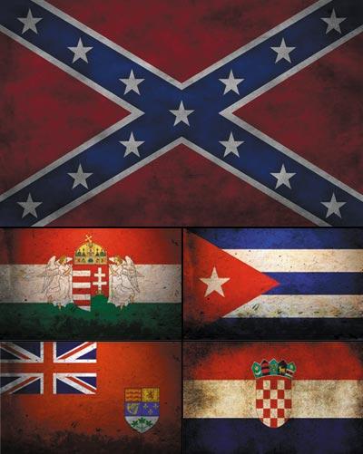 обои для рабочего стола флаги
