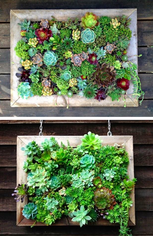 10 ideas para jardines verticales for Jardin vertical verdecora