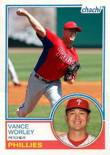 2011 Chachi #31 Vance Worley