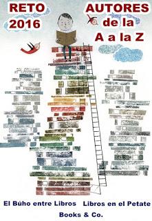 Reto autores de la A a la Z (2016)