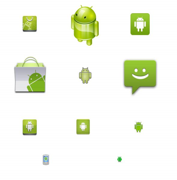 26 Free Android Icons Set Packs Download