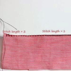How to zig zag stitch to finish raw edges without serger