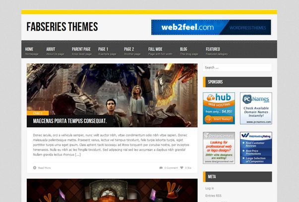 fresh free wordpress themes+%252815%2529 2012 En Güzel Bedava WordPress Temaları indir