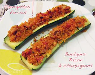 petits farcis légumes courgettes poivrons