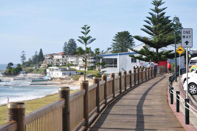 The Entrance, NSW, boardwalk