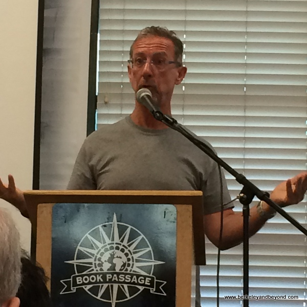 author Chris Baker speaks about Cuba at Book Passage in Corte Madera, California