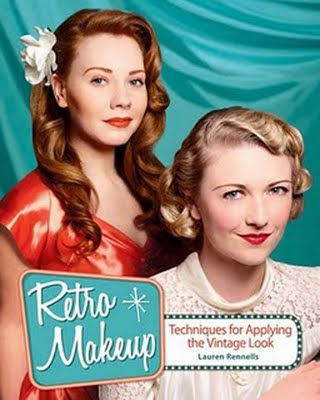 retro makeup book by lauren rennells