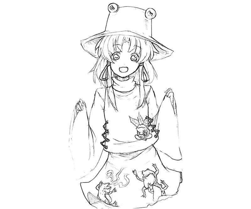 printable-suwako-moriya-dress-coloring-pages