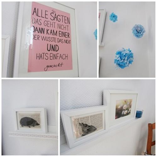 Dekoration Wandschmuck Gallery Wall Handlettering