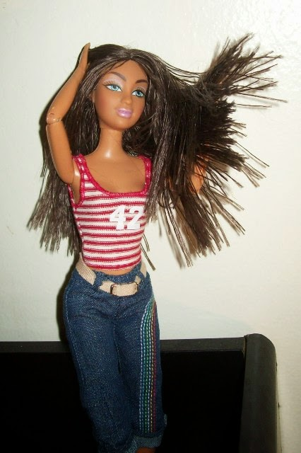 Mattel Flavas Party Tika doll swings hair