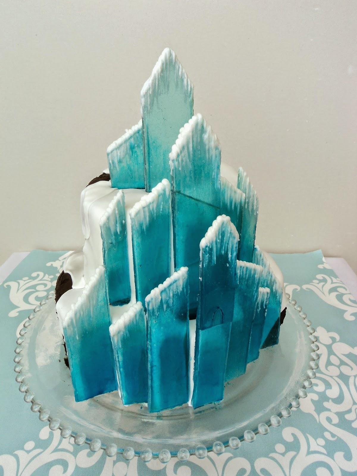 Frozen Castle Cakes Uk