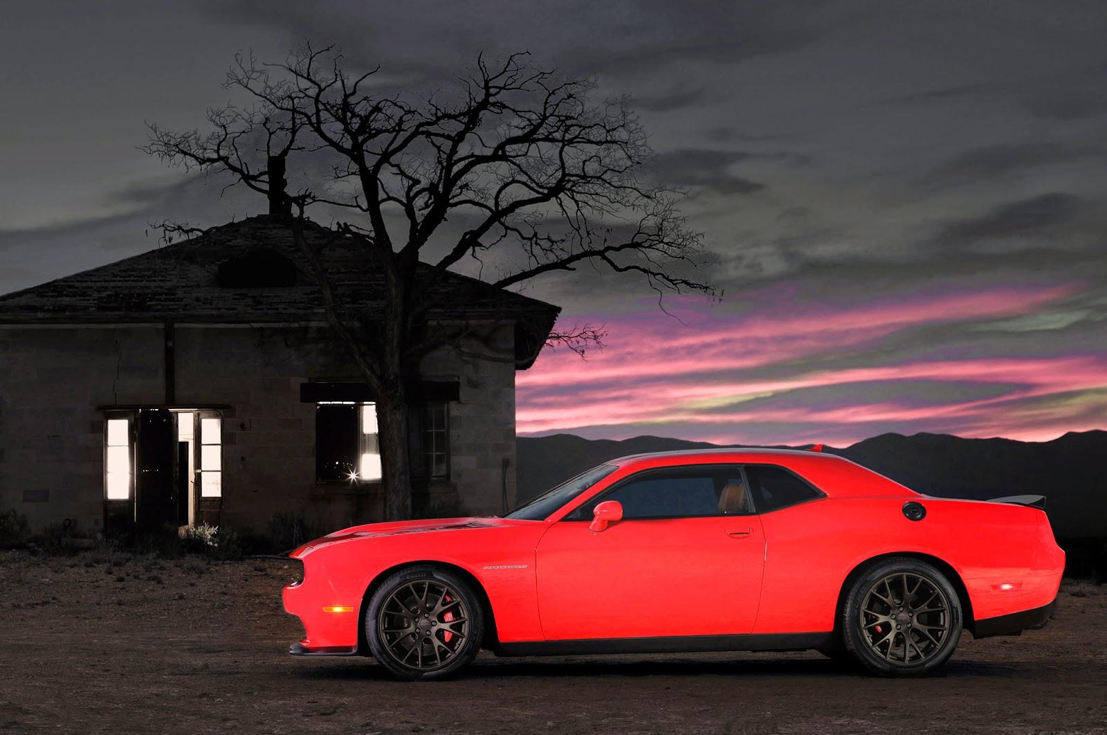 Обои Dodge challenger, передок, чёрный, матовый, car. Автомобили foto 19