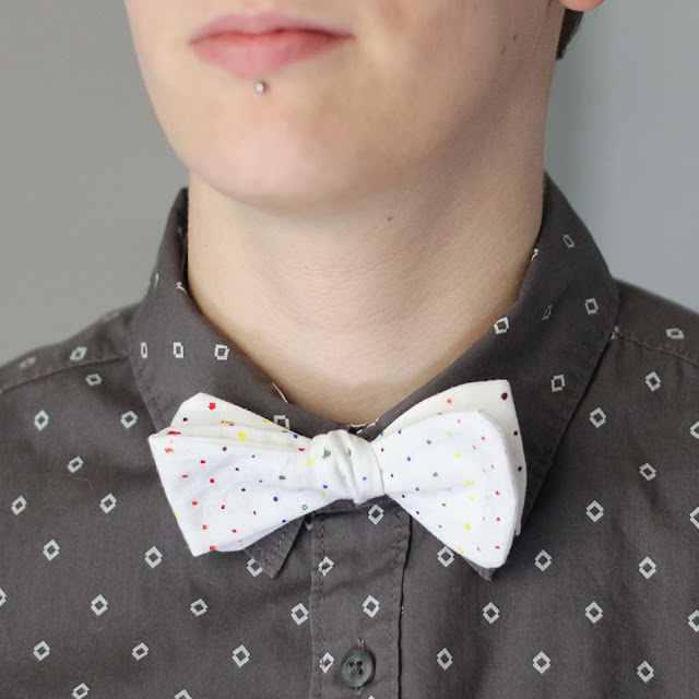 Multi-Colored Bow Tie Tutorial