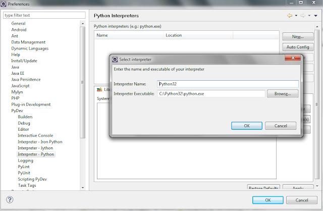 Eclipse PyDev Configuration