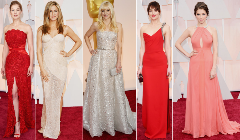 oscars academy awards red carpet best dressed