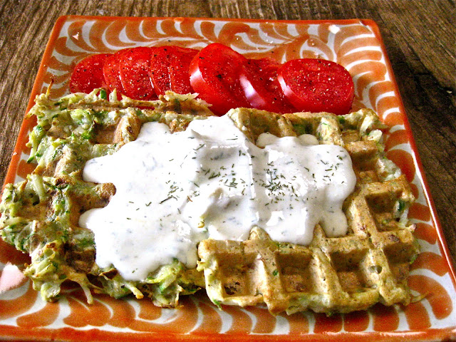 Flavors of the Sun: Fast and Easy Potato-Zucchini Waffles